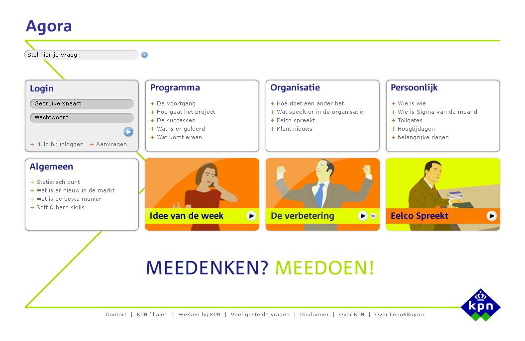 KPN Agora intranet