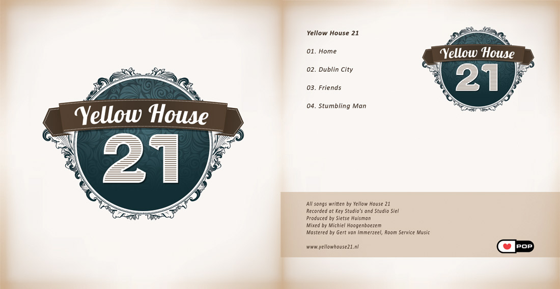 Yellow House 21 identity