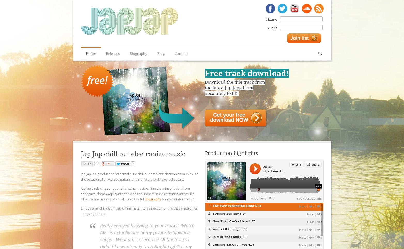 japjap.net website