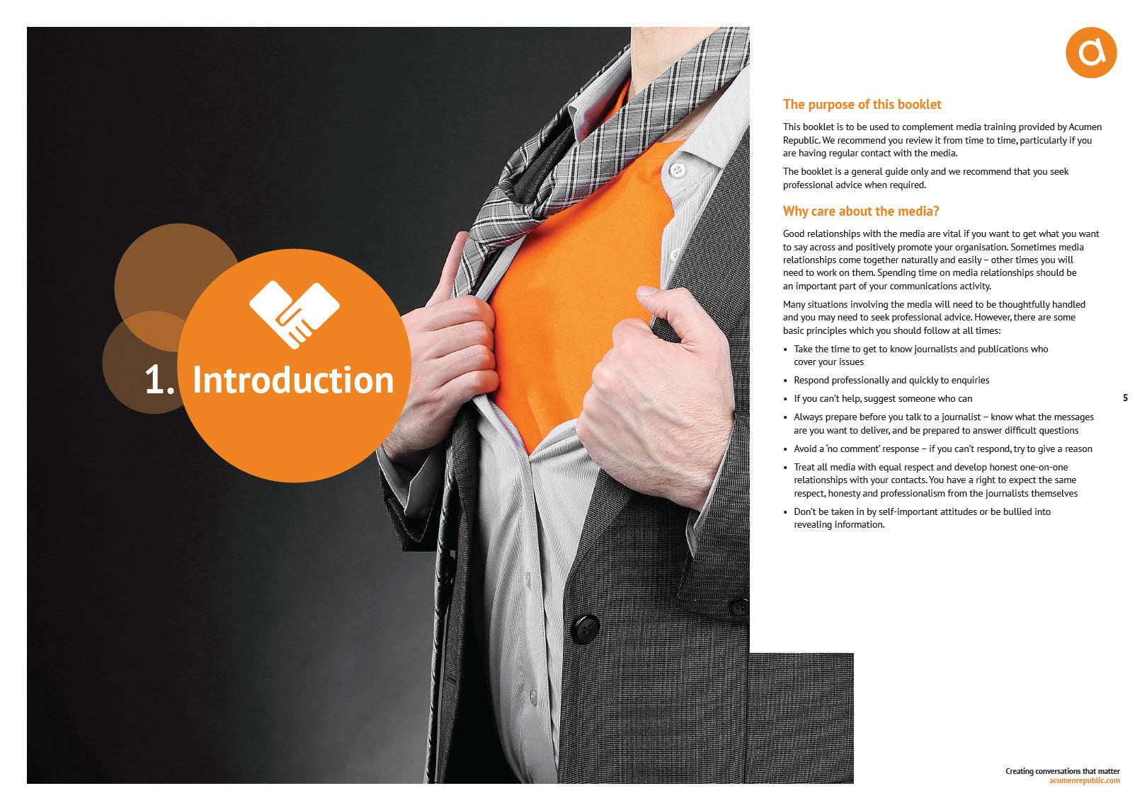 Media Training Manual