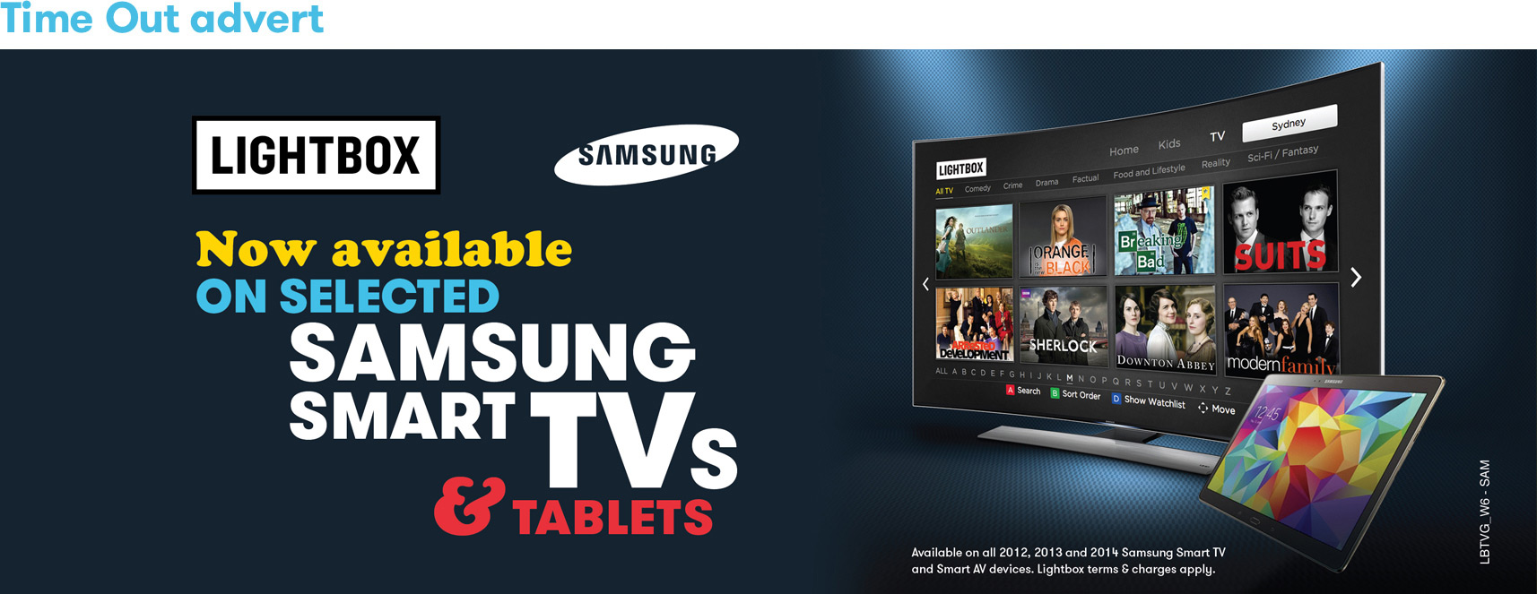 Lightbox Samsung