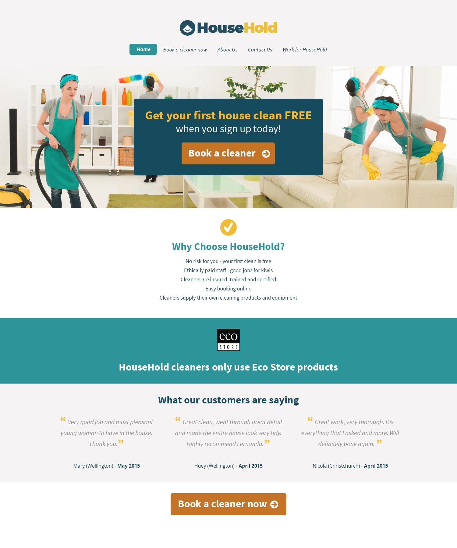 HouseHold Website